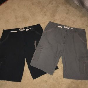 Good condition cargo shorts bundle